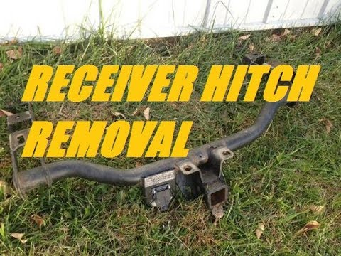 HOW TO REMOVE & INSTALL the tow hitch receiver 1999 - 2006 Chevrolet Silverado - EASY!