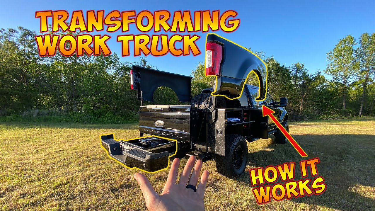 Transformer tool truck working, and explained...