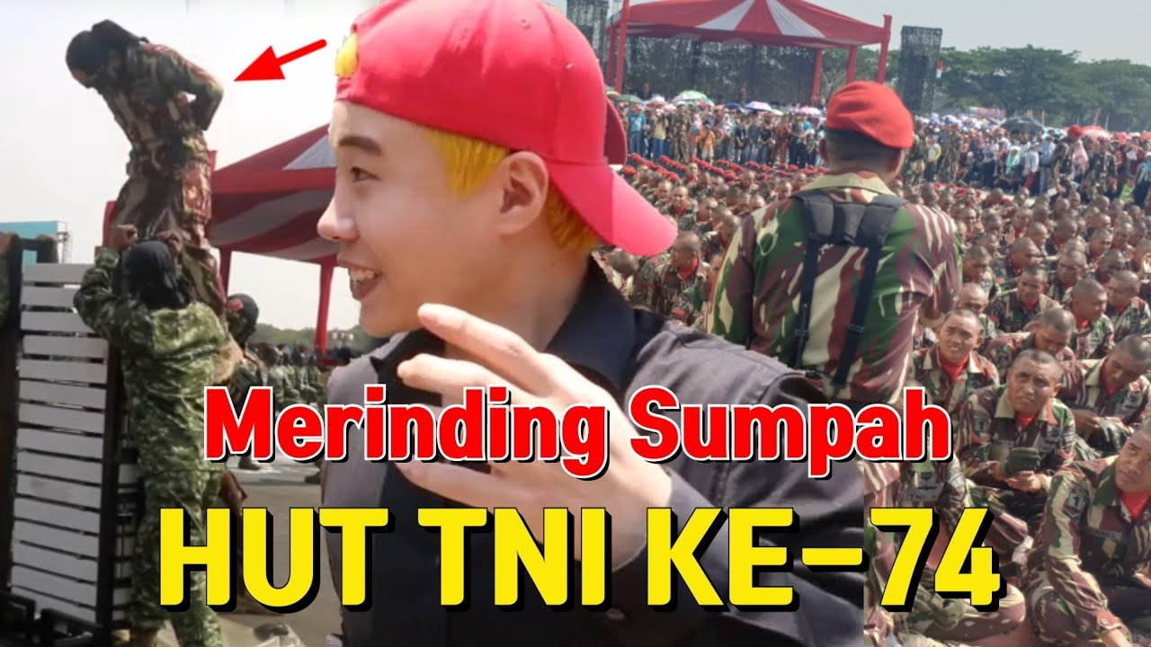 BUKAN REACTION DOANG LANGSUNG NONTON MERINDING HUT TNI Ke-74