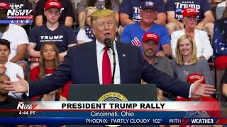 FULL RALLY: President Trump on Democrats, Economy in Cincinnati, Ohio