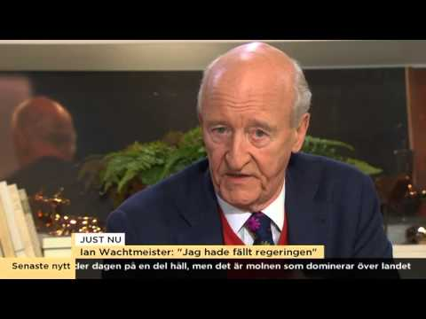 "Ian Wachtmeister: ""De mobbar Sverigedemokraterna"" - Nyhetsmorgon (TV4)"