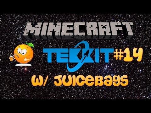 Minecraft Tekkit Server Episode 14 [ How to Refine Uranium! ]