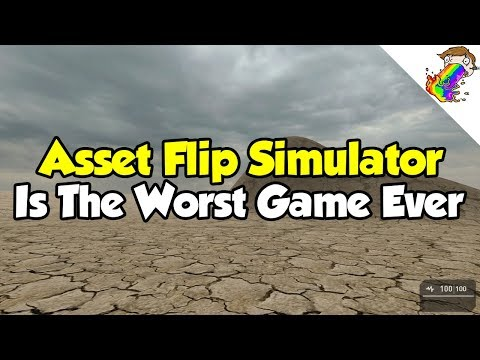 Asset Flip Simulator Is The Worst Game Ever