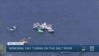 Busy day expected for Memorial Day Salt River Tubing