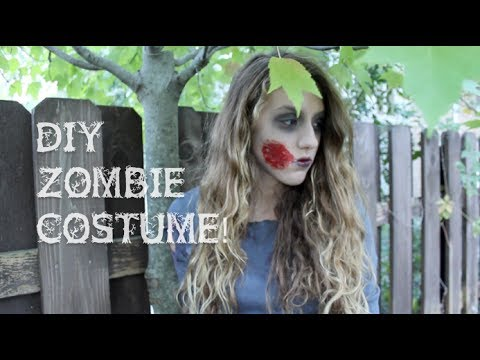 DIY Zombie Costume! Makeup + Outfit