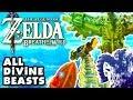 The Legend of Zelda: Breath of The Wild - All Divine Beasts! (Nintendo Switch)