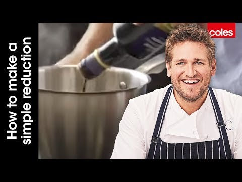 How to make a simple reduction with Curtis Stone