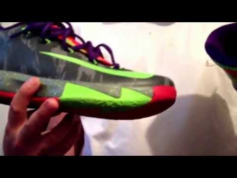 How to Lace up your KD 6 shoes