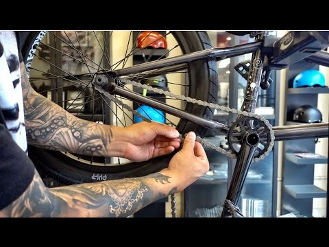 HOW TO INSTALL A CHAIN ON YOUR BMX