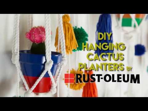 Cinco De Mayo Terra Cotta Pots with Rust-Oleum Spray Paint