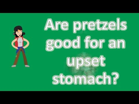 Are pretzels good for an upset stomach ? | Best and Top Health FAQs