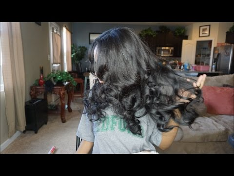 Traditional Sew In weave   Watch Me Install!