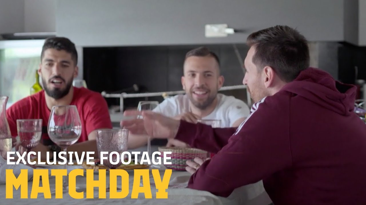 Unseen footage from MATCHDAY: Inside FC Barcelona