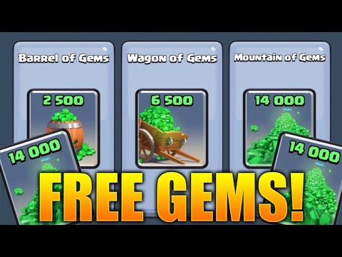 Clash Royale -  How To Get FREE Gems & SUPER MAGICAL CHESTS! (Easy & Fast Free Gems Clash Royale!)