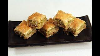 Baklava | Middle Eastern Dessert | Sanjeev Kapoor Khazana