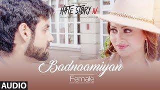 Badnaamiyan Full Audio |  HateStory IV | Urvashi Rautela, Vivan B, Karan Wahi | Sukriti Kakar