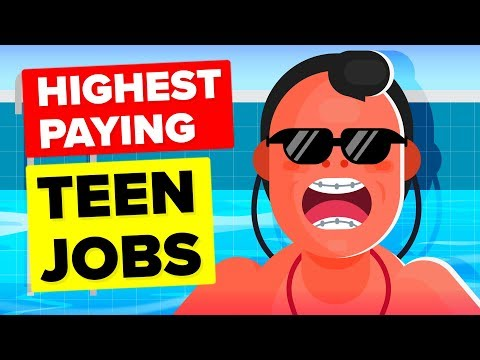 Xxx Mp4 10 Surprisingly High Paying Teenage Jobs In 2019 3gp Sex
