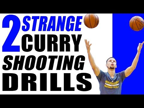 2 STRANGE Stephen Curry Basketball Shooting Drills! Shoot Better In Games!