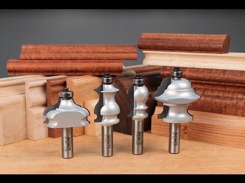 Infinity Cutting Tools - Multiple Profile Router Bits