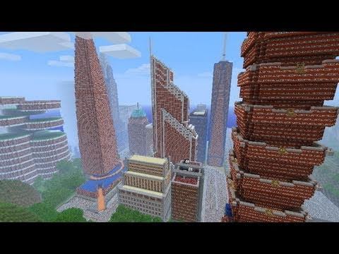 Minecraft: TNT City Explosion!!! (NewcraftCity)