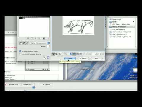 Adobe Fireworks: Creating Animated Gifs