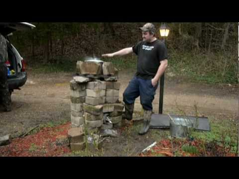 Canning on a Wood fire ( Rocket Stove)