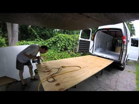 Van build Floor pt 1