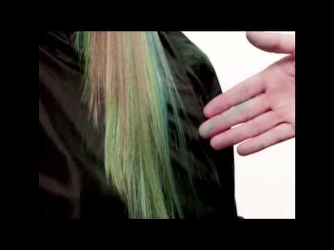 How-To: Hair Color Chalk