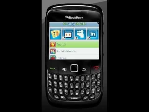 Snaptu On blackberry Curve 8520