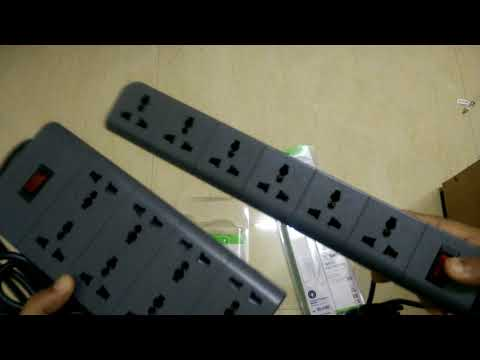 Belkin 6 VS 8 Socket Surge Protector (Essential Series F9E600zb2MGRY)