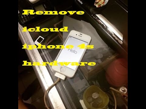 Remove icloud iphone 4s - hardware