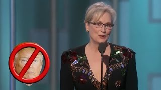 Meryl Streep SLAMS Trump In Golden Globes Acceptance Speech | What