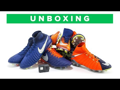 Nike Time to Shine Pack Unboxing | See the latest  Nike Mercurial, Hypervenom, Magista and Tiempo