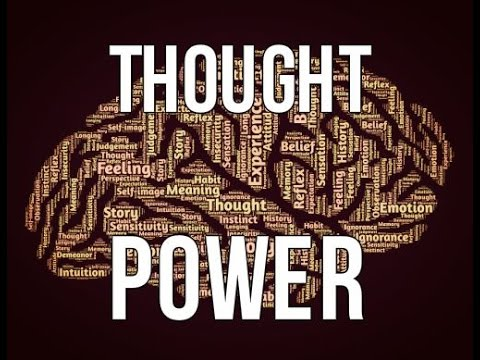 The Incredible Power Of Your Thoughts! (Share this!)