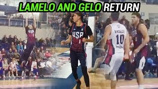 LaMelo Ball DROPS 38 For Team USA In Lithuania RETURN! Gelo Puts In 35 🔥