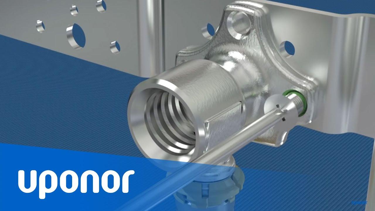 Uponor Trinkwasseranschluss-System für das bewährte Verbundrohr