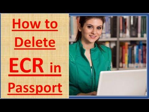 #1 ECR to ECNR | ECR to ECNR Change | ECR se ECNR kaise kare | Deletion of ECR from Passport Part 1