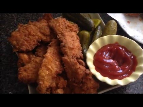 How to make the Crispiest Chicken Tenders using Cornflakes