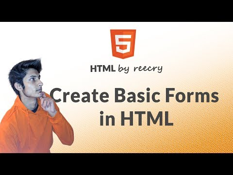 HTML Forms Part -1 (create basics forms in HTML) - learn HTML in Hindi