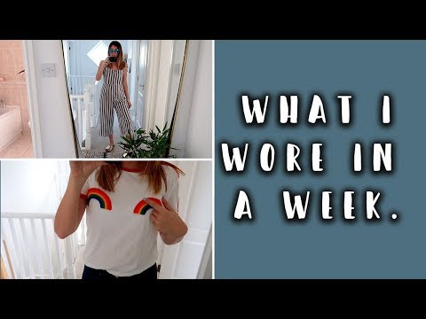 WHAT I WORE IN A WEEK (WITH NILLY DAHLIA & MUMMY IN THE KNOW)