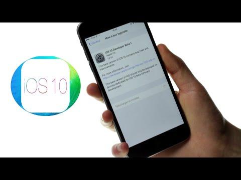Installer la beta d'IOS10 gratuitement / revenir sous IOS9 [IOS]