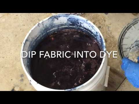 DIY SHIBORI Drop Cloths