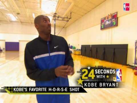 Kobe Bryant's favorite H-O-R-S-E shot