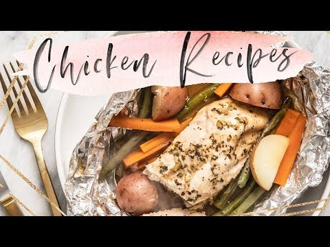 5 UNboring CHICKEN DINNER Recipes (Healthy)