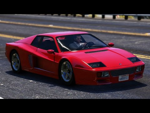 GTA V Grotti Cheetah Classic Mod