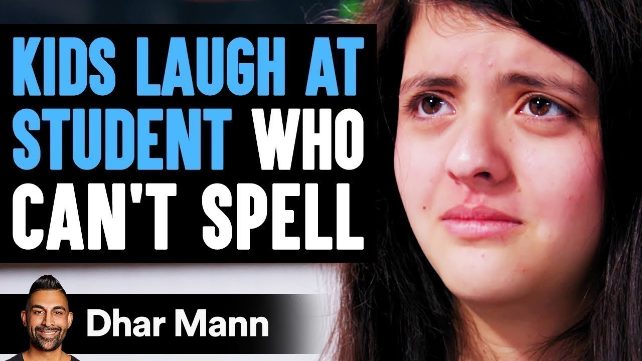 Kids Laugh At Student Who Can't Spell, They Instantly Regret It | Dhar Mann
