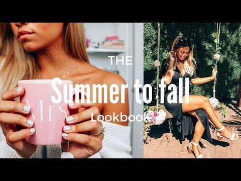 Summer to Fall Monochromatic Lookbook ft. Sally Hansen | Ashley Bloomfield
