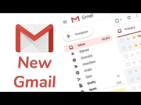 How to Get New Gmail Layout (New Gmail design)
