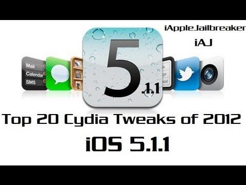 iOS 5.1.1 Top 20 Cydia Tweaks