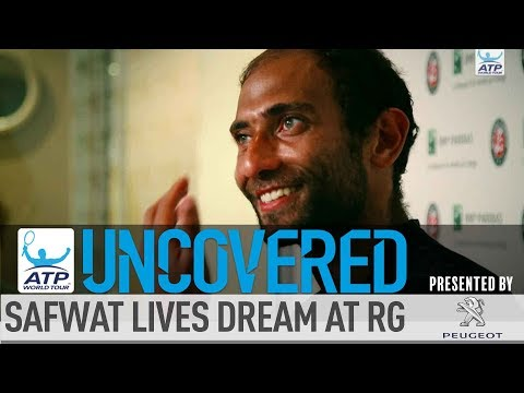 Uncovered: Safwat Lives His Dream At Roland Garros